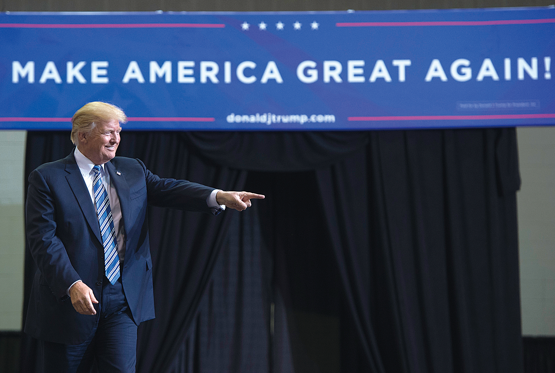 特朗普的競標:從《跛腳美國》到《再度偉大》