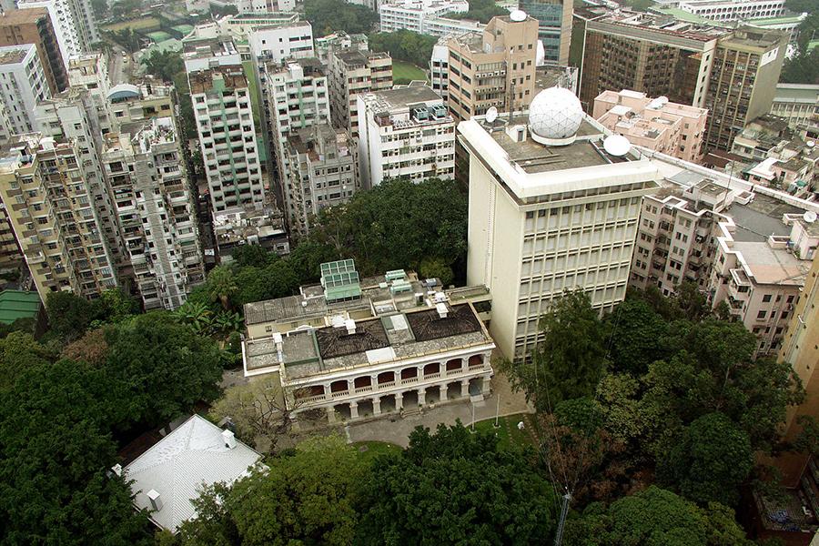香港天文台總部成亞洲最早建立百年觀測站
