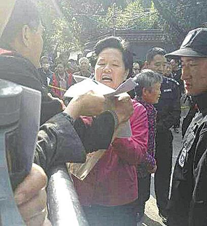 中共國家信訪局長見訪民 被批為十九大做騷