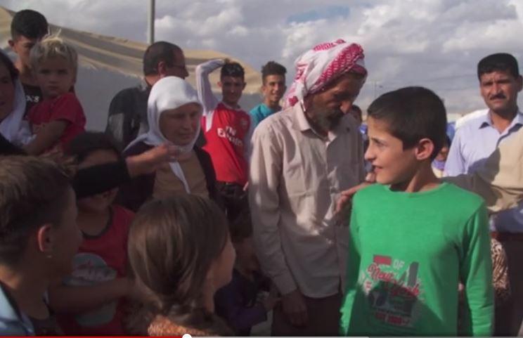 IS惡行曝光:遭綁童奴獲救 舉止令人心碎