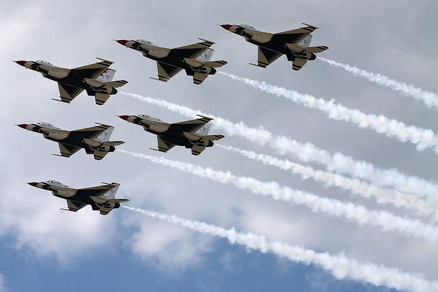 特朗普簽行政令 空軍可召回1000名退休飛行員