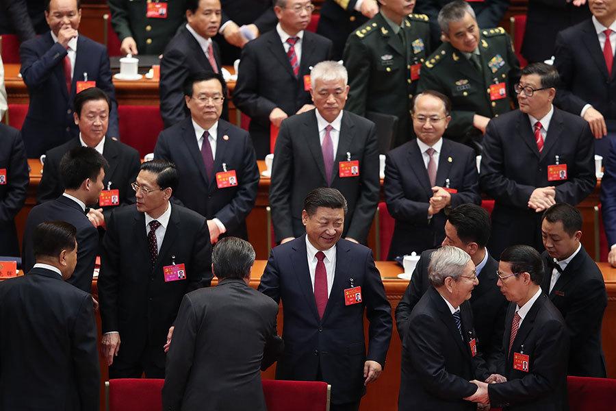 十九屆中委名單出爐 政治局委員至少換一半