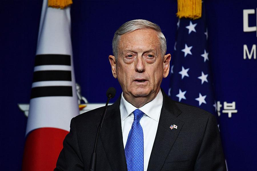 美防長:核武威脅升級 絕不接受北韓擁核