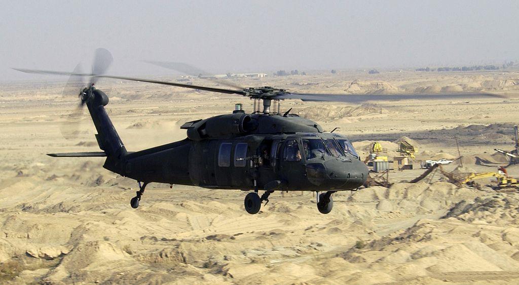 美軍黑鷹直升機在阿富汗墜毀 1死6傷
