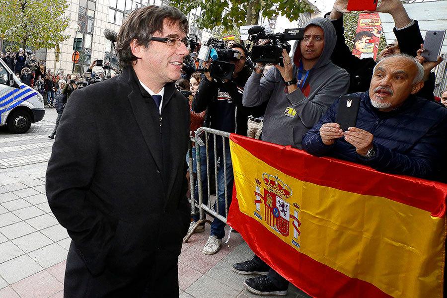 西班牙法院傳喚加泰羅尼亞領袖出庭應訊