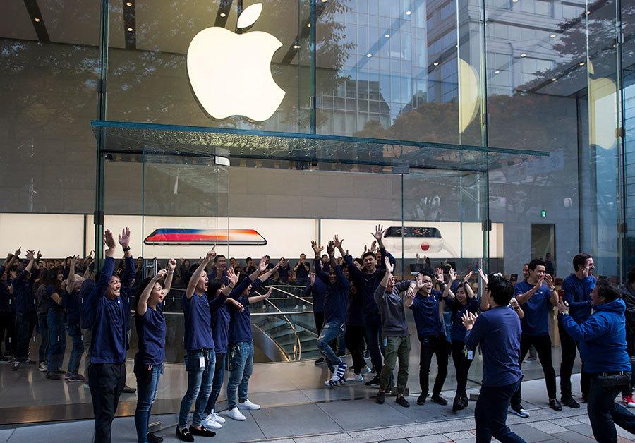 全球果粉搶購iPhone X 蘋果市值或達萬億