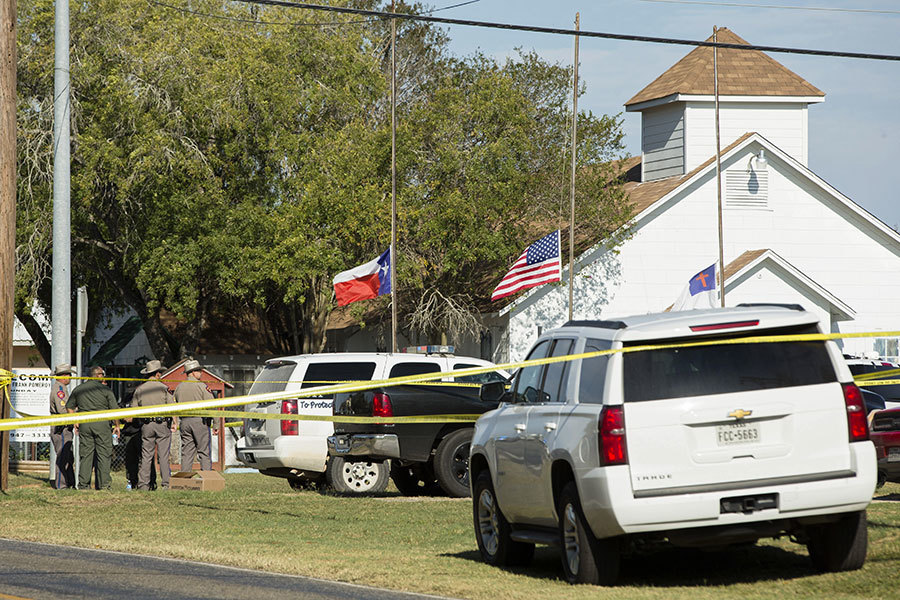 德州重大槍擊 疑犯確認曾在空軍服役
