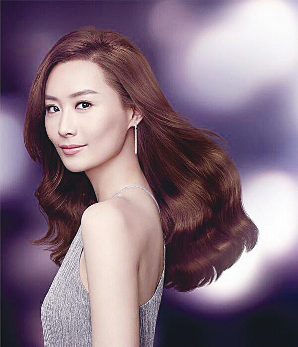 陳法拉為染髮品牌代言  自信源於時刻追求完美