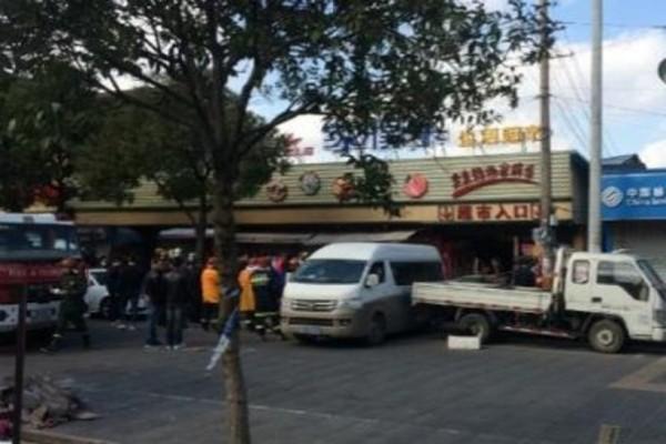 「雙十一」促銷貨太多 上海一超市倒塌致2死