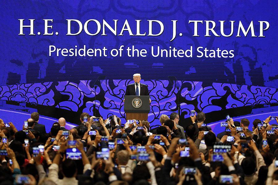 APEC聯合聲明新面貌 採納多項特朗普主張