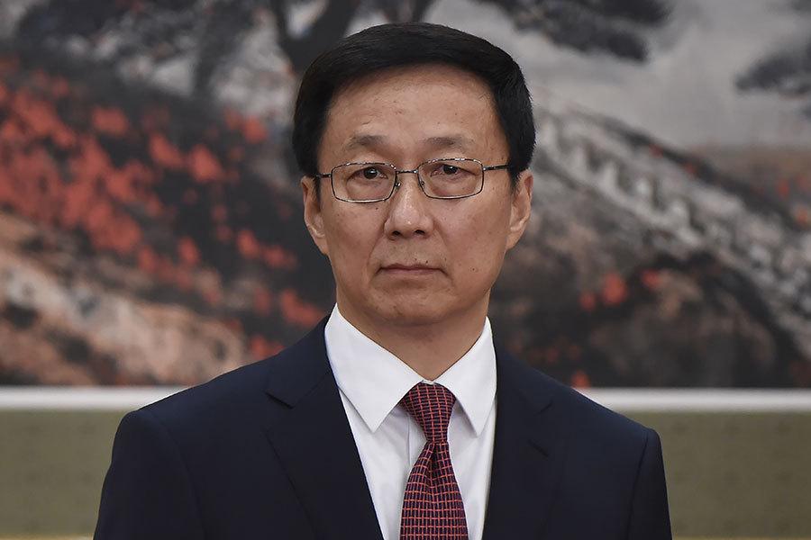 北京派韓正出席冬奧開幕式 南韓輿論稱官小