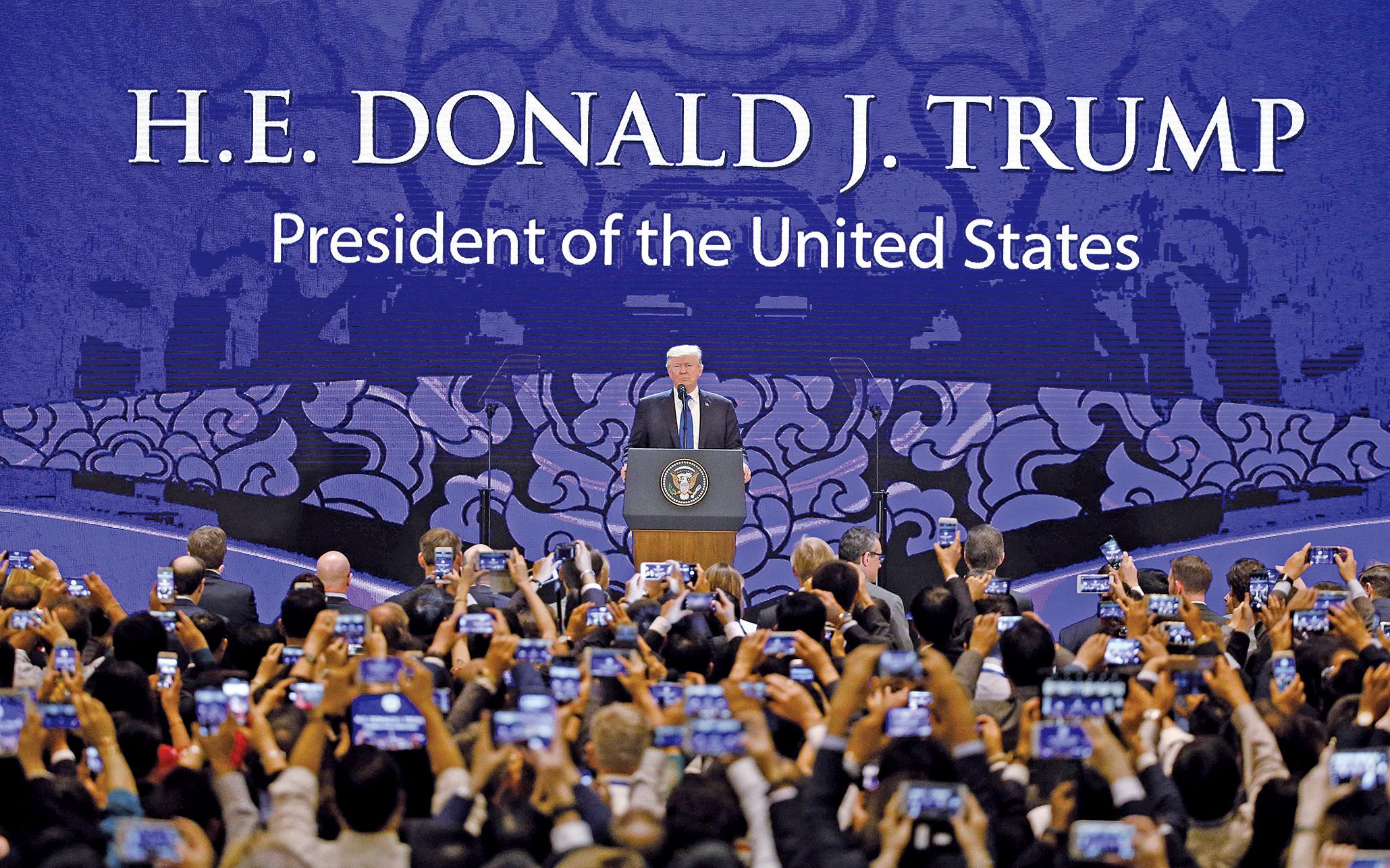 APEC聲明採多項特朗普主張