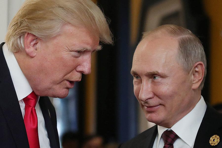 APEC會上特朗普與普京三次「偶然碰面」