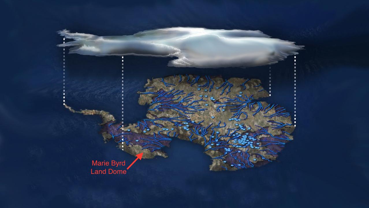 研究:南極也有地熱 成於億萬年前
