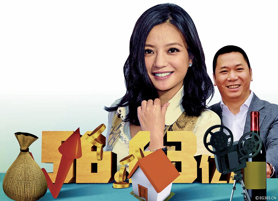 趙薇夫婦56億資產版圖曝光
