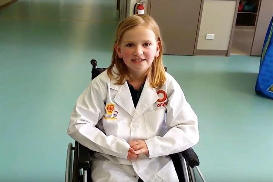 孝心激發創意贏發明大獎 八歲女孩獲邀遊NASA