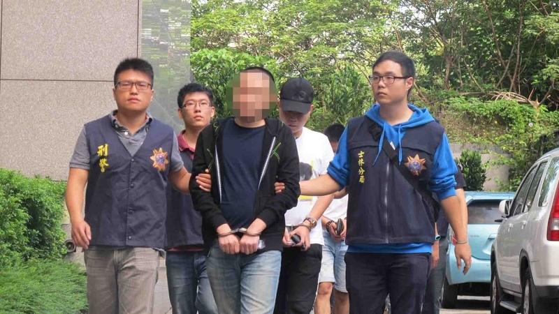涉滋擾本港議員 台灣四海幫海強堂被搗破