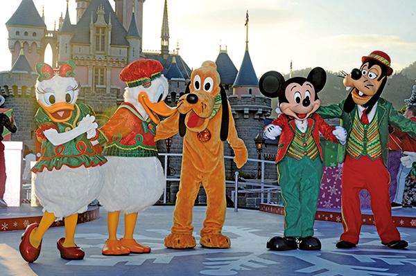 迪士尼聖誕活動至明年一月一日