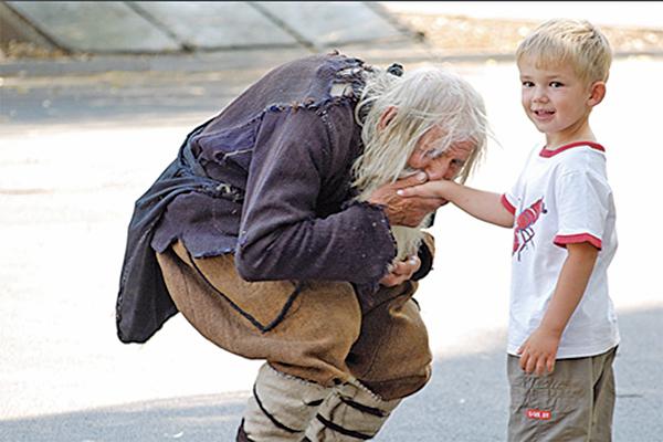 保加利亞的百歲英雄「乞丐」