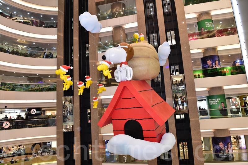 史諾比在時代廣場過聖誕