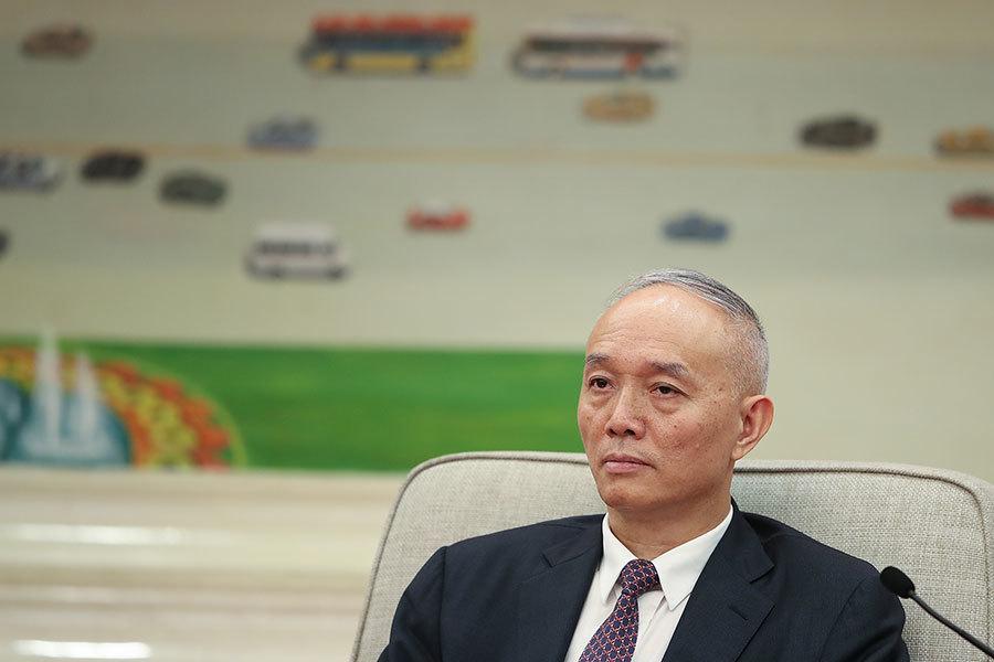 蔡奇獻「英明領袖」高帽 傳被王滬寧否定