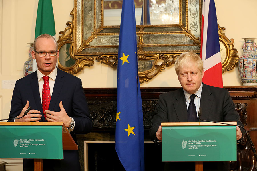 愛爾蘭威脅否決英國脫歐協議