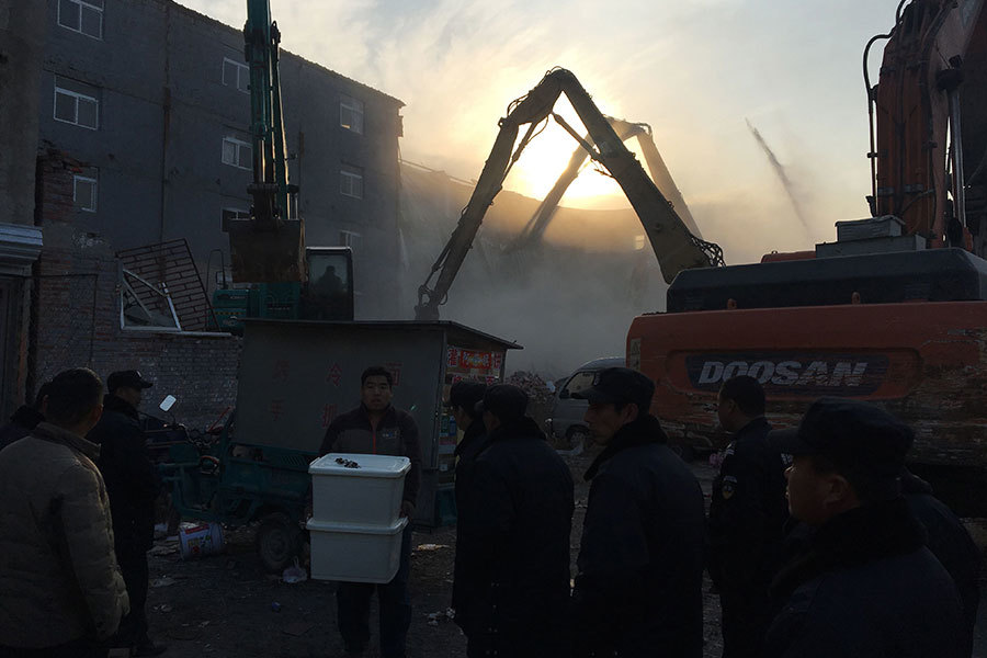 北京持續轟人 義工團體救援遭當局強制解散