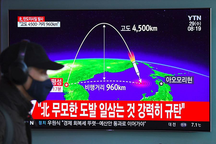 北韓射洲際導彈 高度和射程都進步