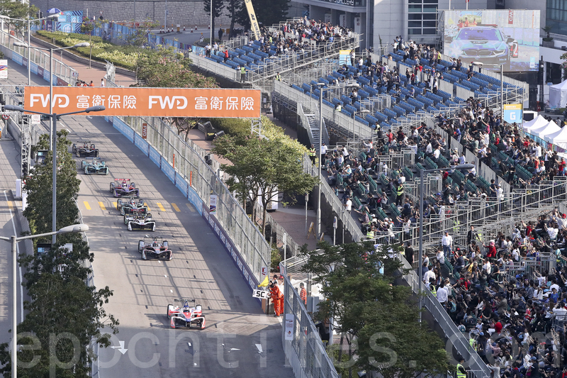 Formula E 一連兩日在港舉行