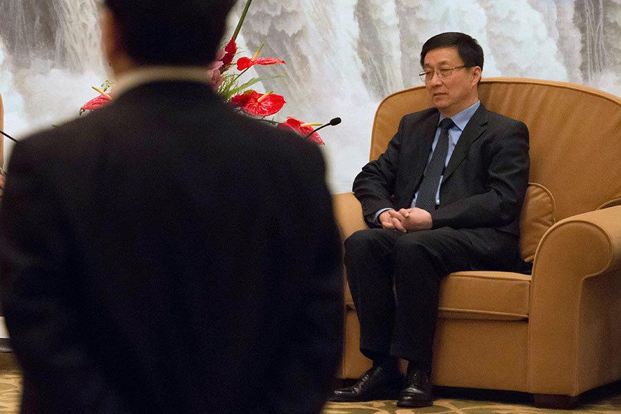 排名最末常委韓正參加台盟會議 去向明朗化