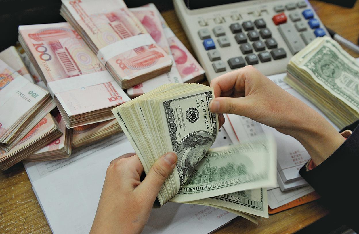 大陸嚴管外匯資金仍續外流