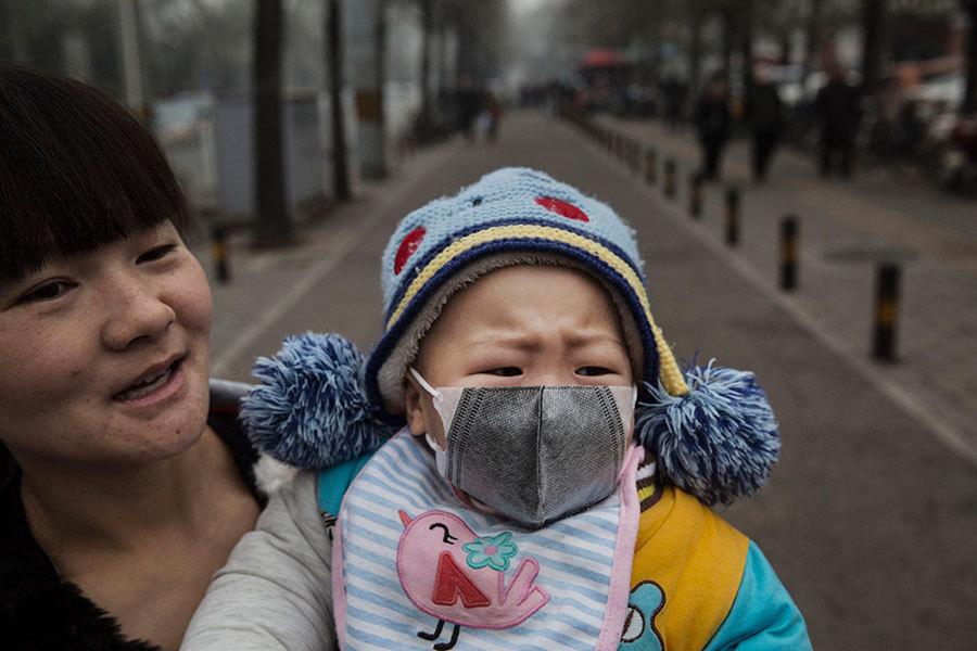空氣污染致嬰兒永久腦損傷 印度中國風險最高