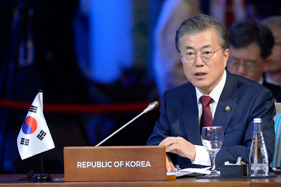 文在寅下周訪華 韓總統府:希望避談薩德