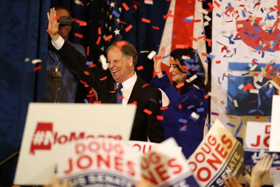 美阿拉巴馬州特別選舉 民主黨人瓊斯勝選