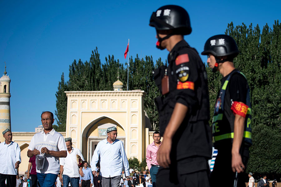 中共收集新疆人DNA樣本 背後是何用意