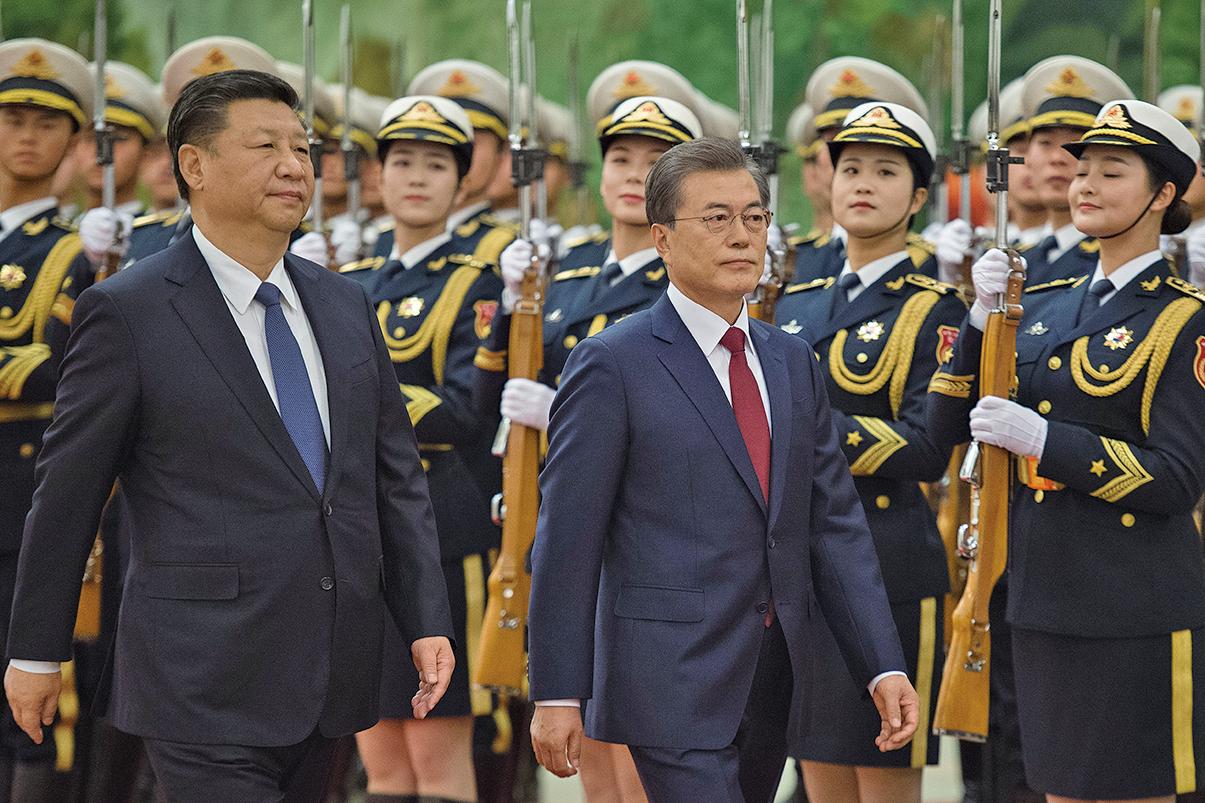 為限韓令破冰 韓星宋慧喬陪韓總統訪華