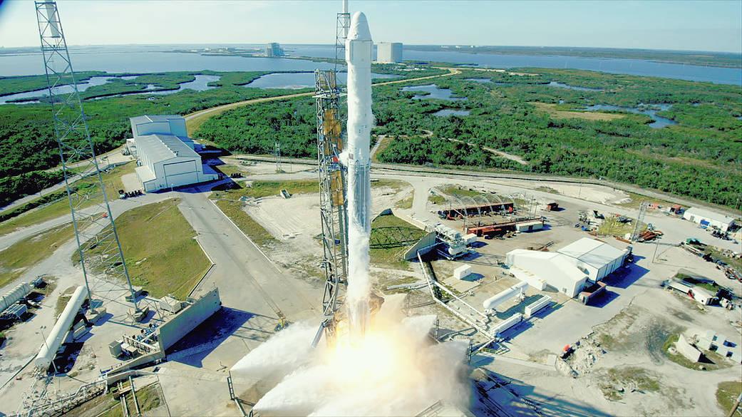 歷史首次 SpaceX發射「二手」火箭和飛船