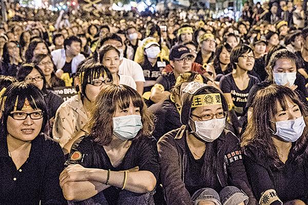 與統促黨、愛同會親近 王炳忠曾反「太陽花學運」