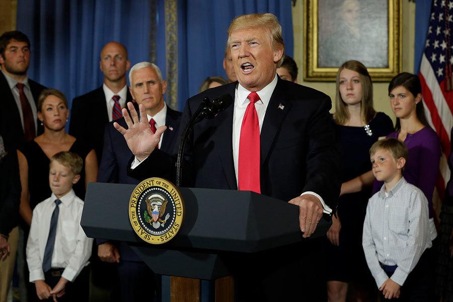 特朗普政府提出跨州購買醫保規則 降低保費