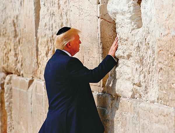 以色列將在哭牆附近建「特朗普車站」