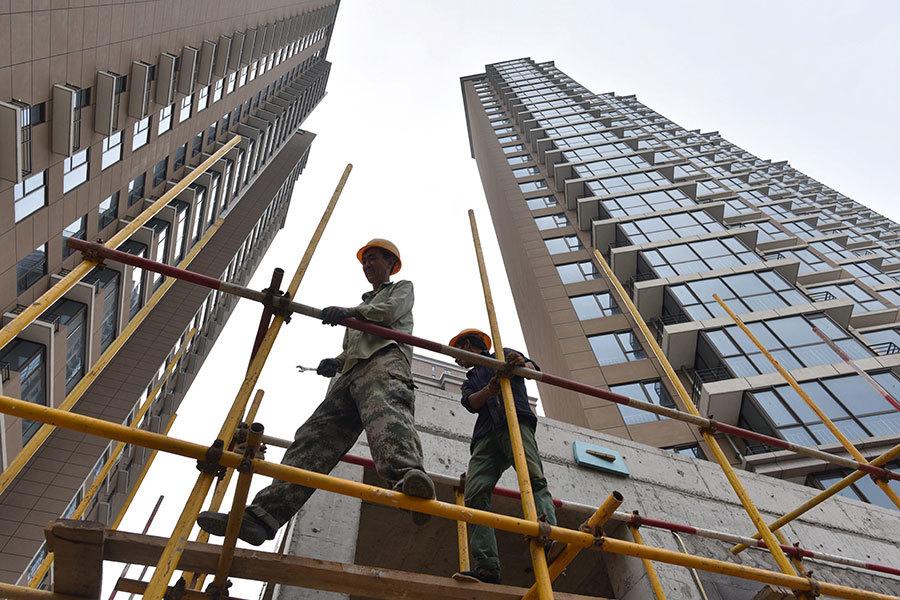 環北京樓市成交量下跌逾九成