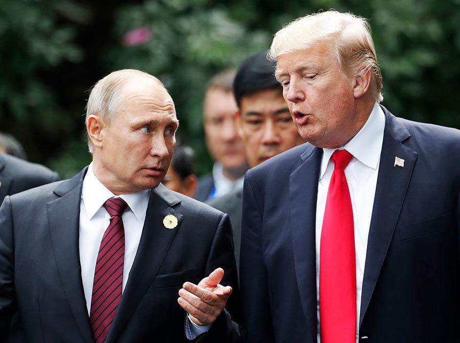 向特朗普示好? 普京新年捎信盼美俄合作