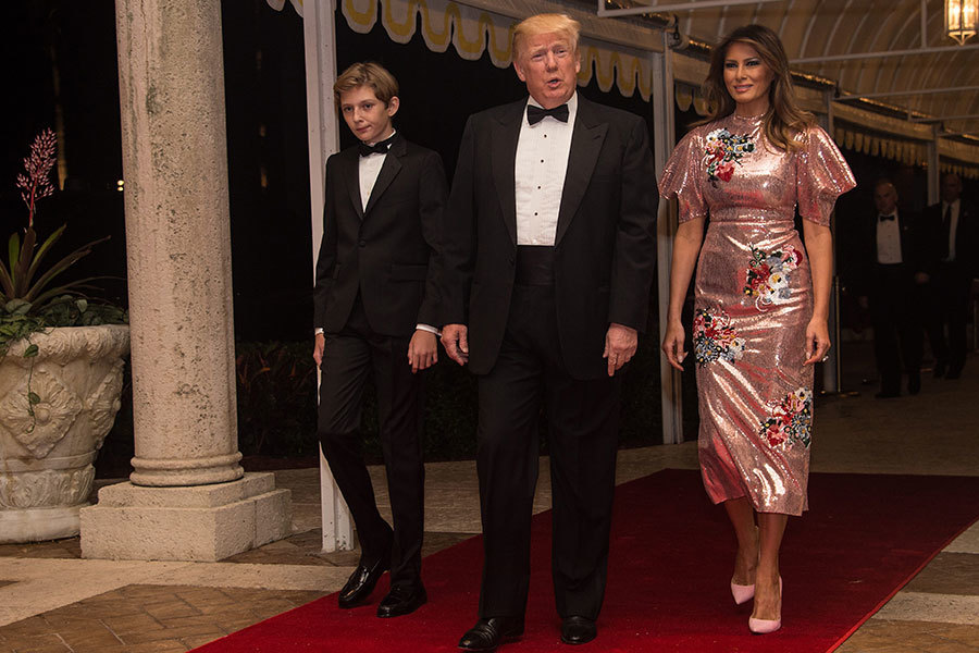 迎新慶典 特朗普期待2018年更美好