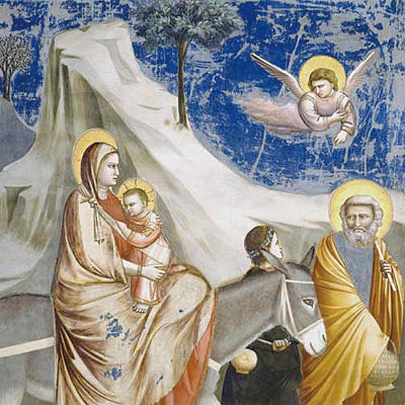 斯克羅威尼禮拜堂的壁畫。(斯克羅威尼禮拜堂官方網站)