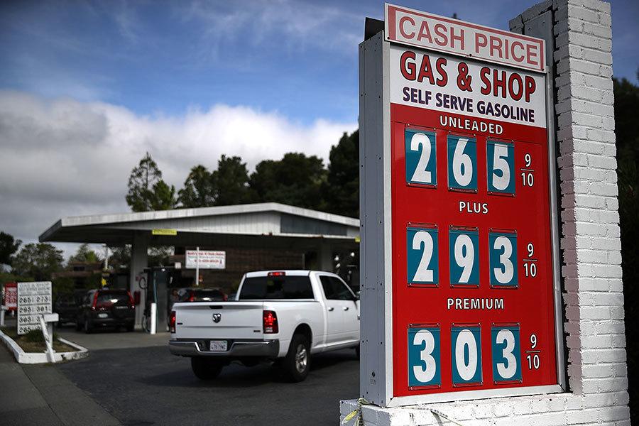 原油價創2.5年新高 專家:全美油價今年漲