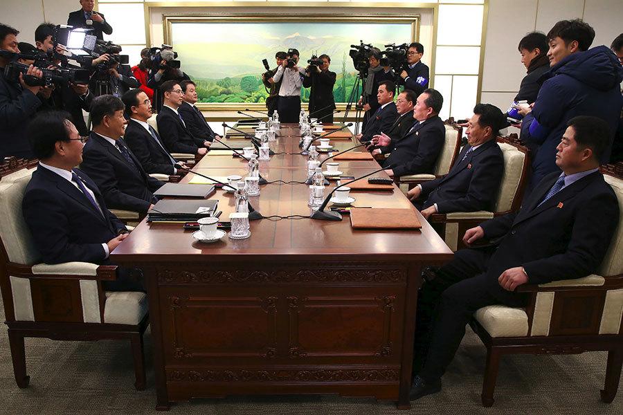兩韓會談 韓提無核化對談 朝未正面回應