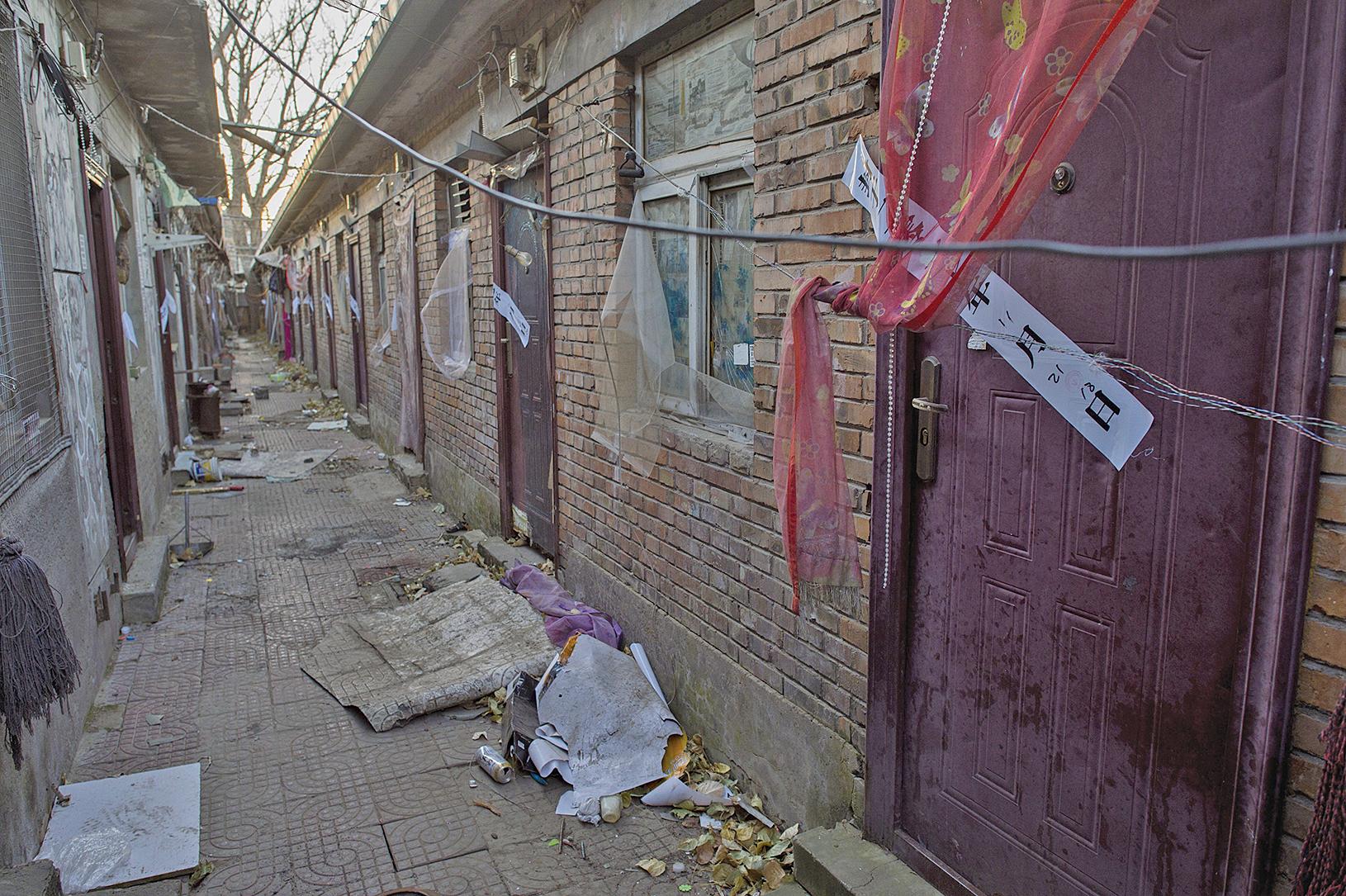 北京逐低端人口後現空村