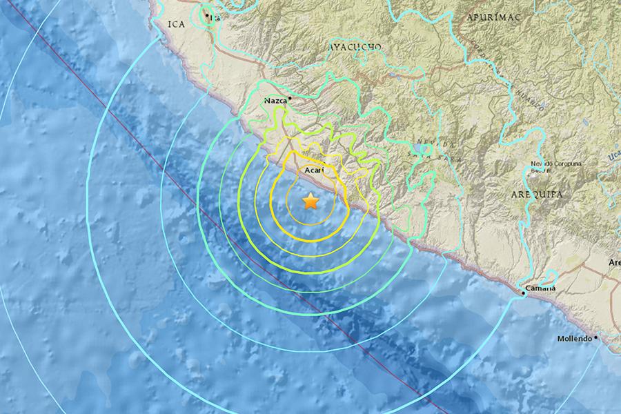秘魯發生7.1級地震 至少2死23傷
