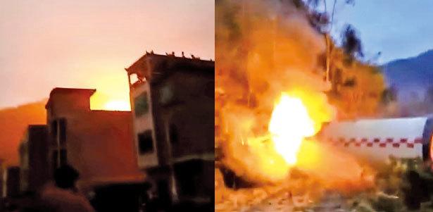四川發火箭 殘骸又砸居民區