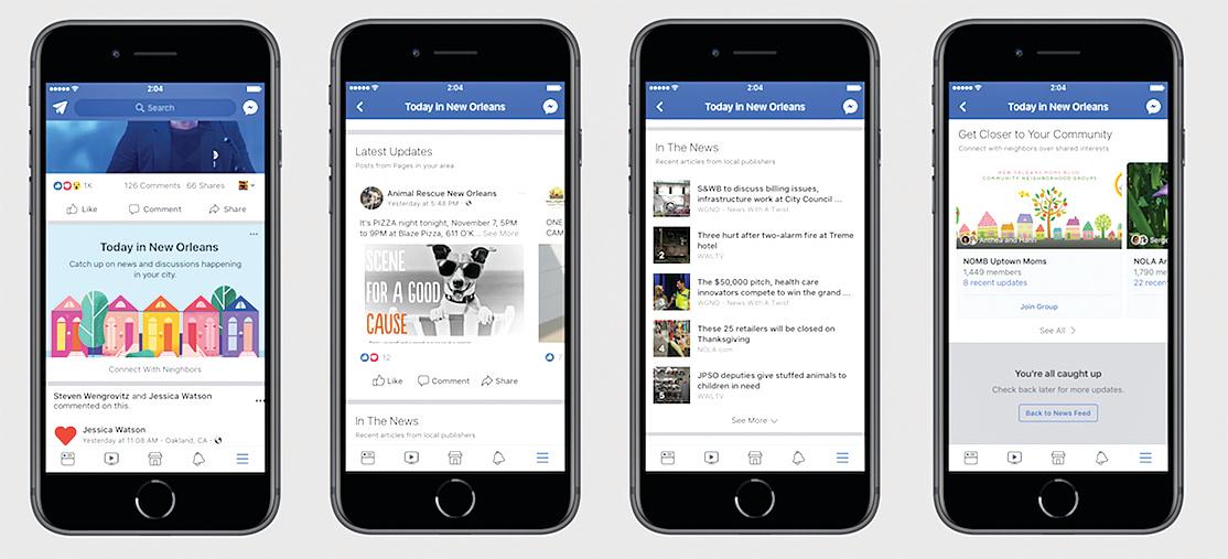 臉書加強在地化服務